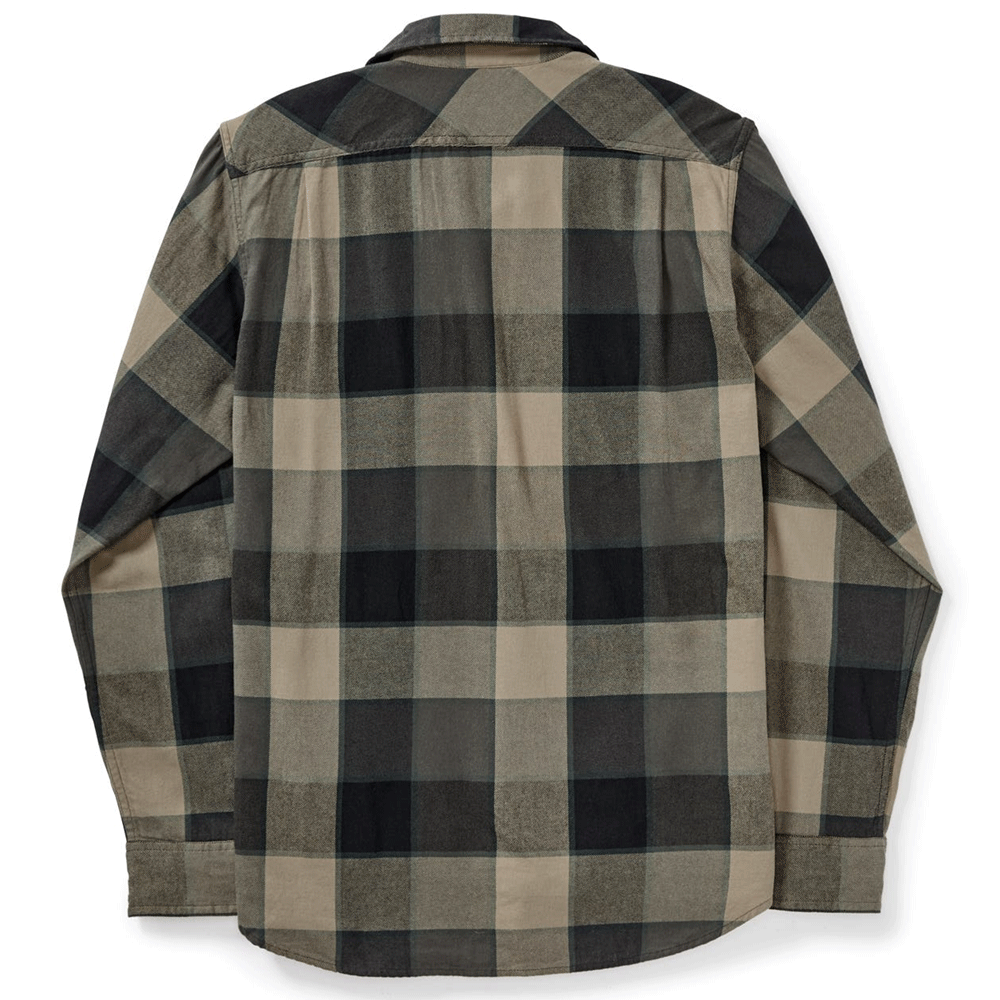 Scout Shirt - Gray / Green / Tan