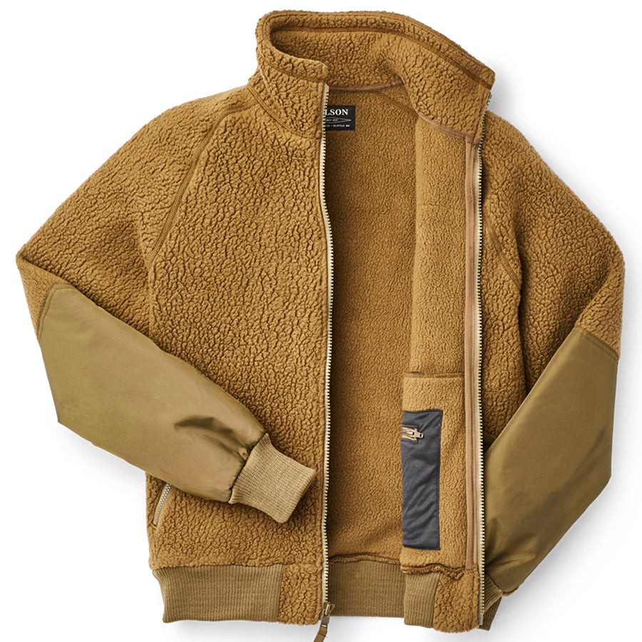 Sherpa Fleece Jacket - Marsh Olive