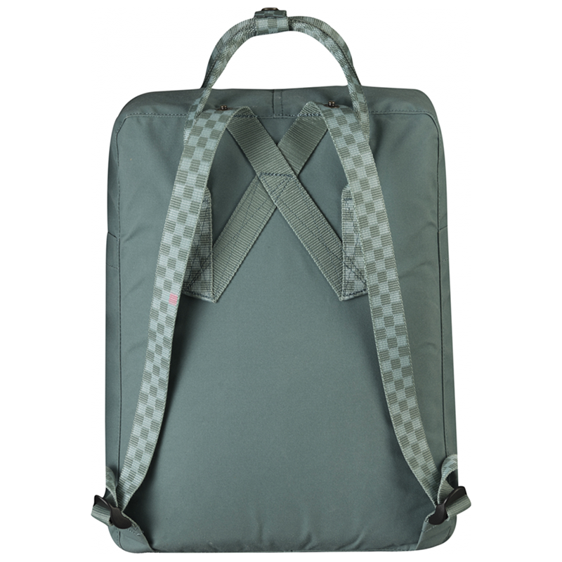 Kånken Classic Backpack - Frost Green & Chess Pattern
