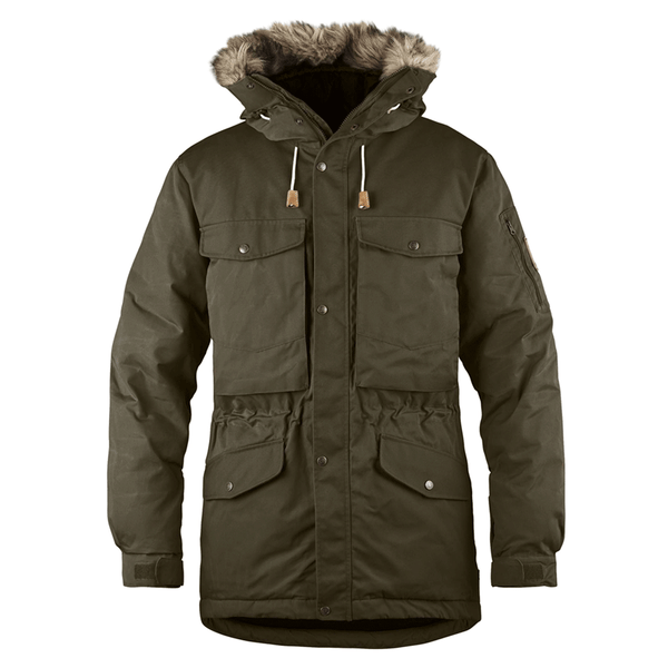 Singi Down Jacket - Dark Olive