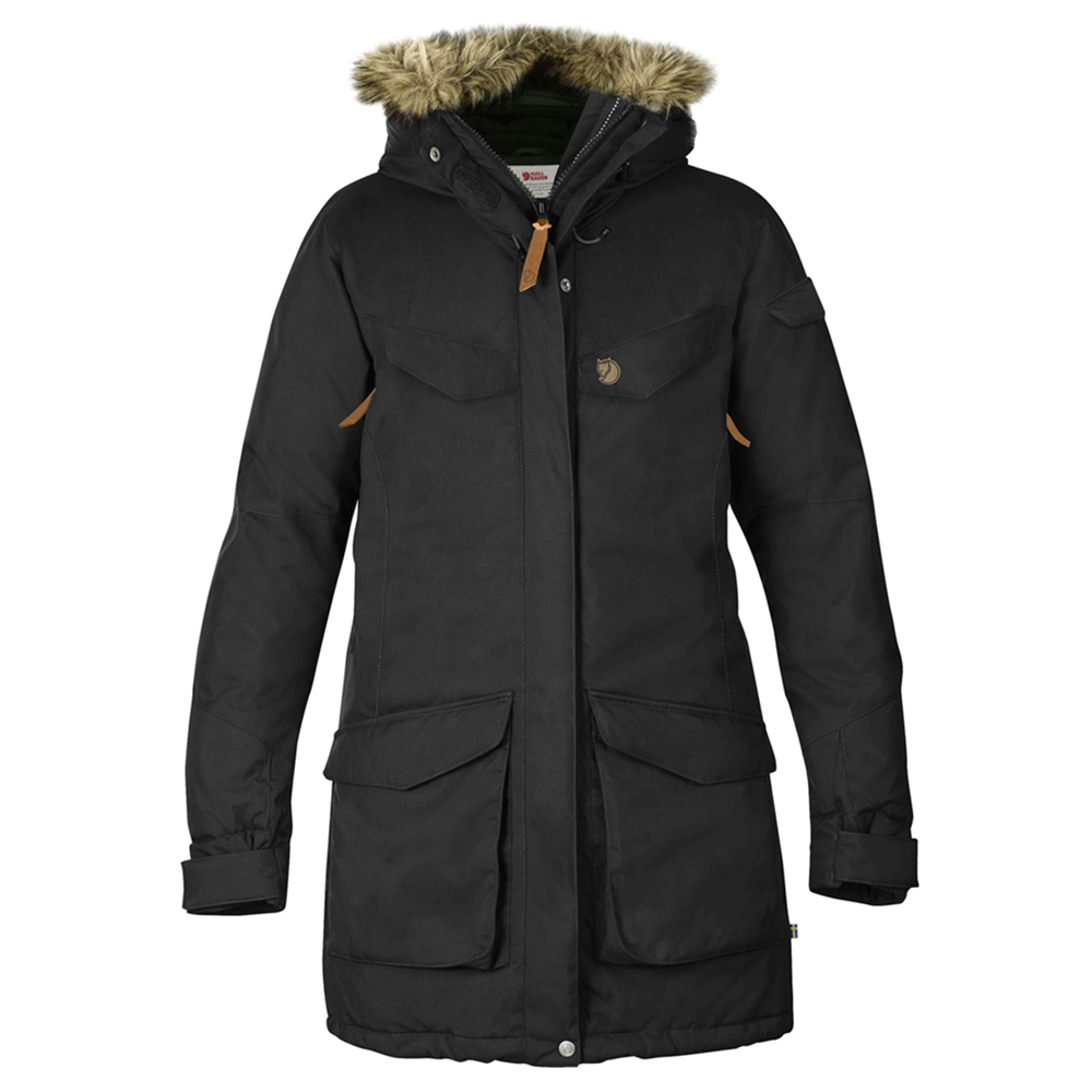Nuuk Women's Parka - Black