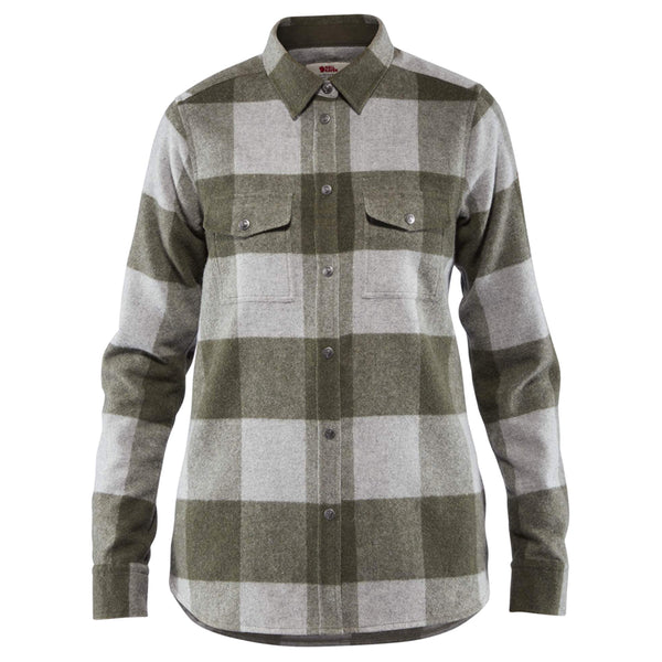 Women's Canada Shirt - Laurel Green / Fog
