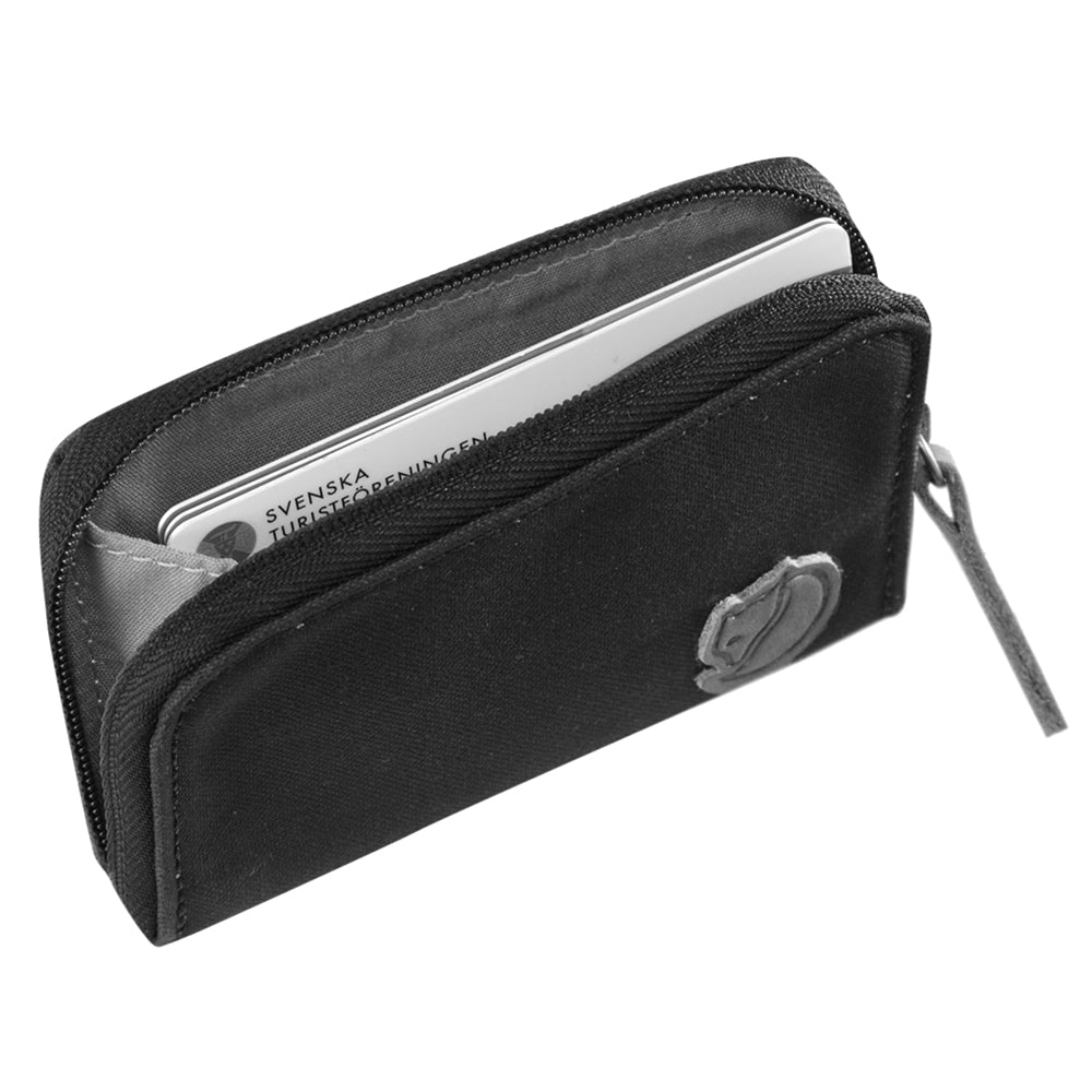 Zip Card Holder - Dark Grey