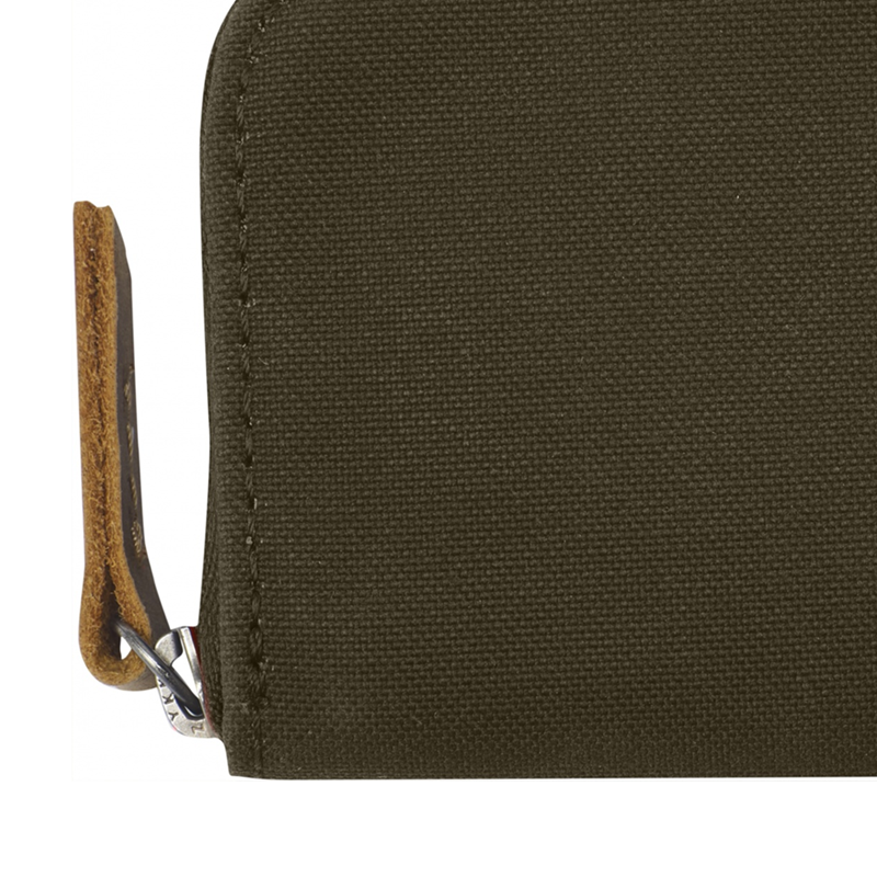 Zip Card Holder - Dark Olive