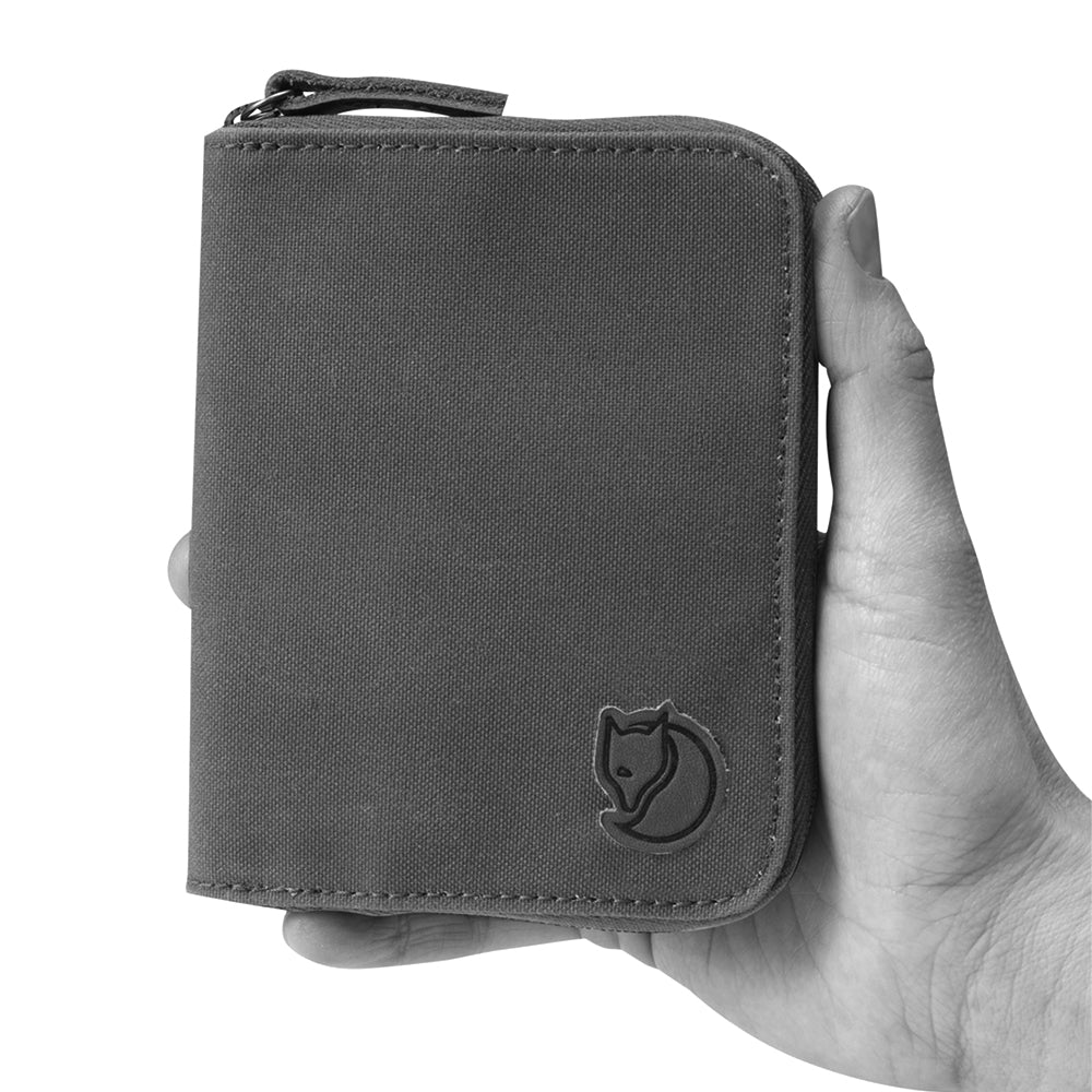 Zip Wallet - Dark Grey
