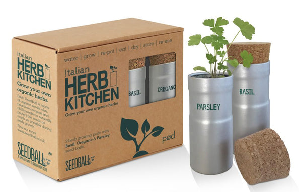 Seedball - Italian Herb Kitchen Grow Kit