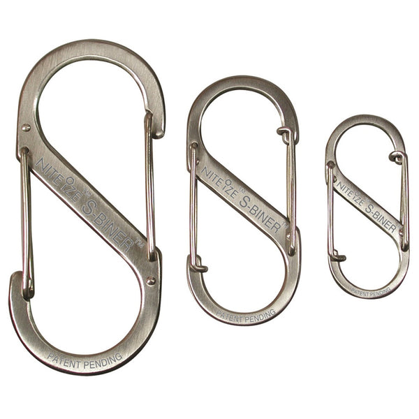 S-Biner - 3 Pack - Stainless