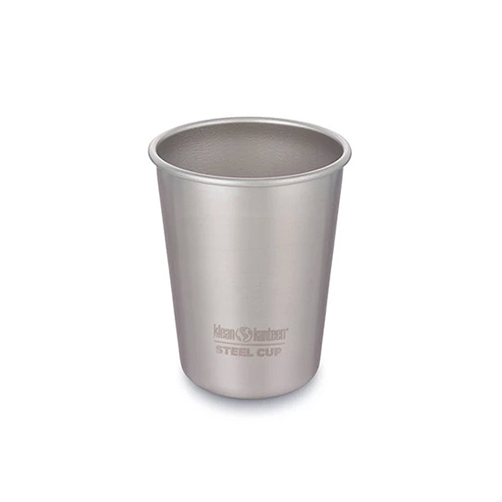 Steel Cup 10oz - Brushed Stainless