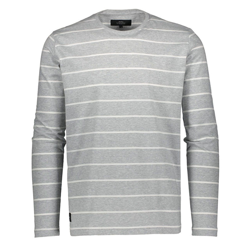 Klippa Long Sleeve - Grey/White