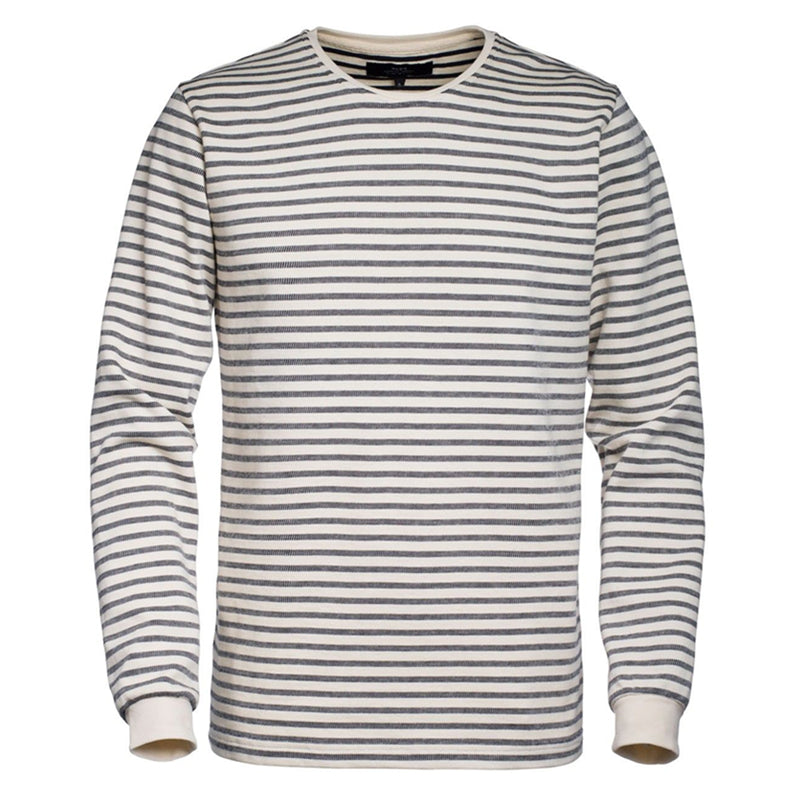 Yacht Long Sleeve - Ecru/Navy