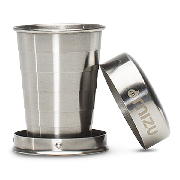 Shot Glass - Stainless w/Black