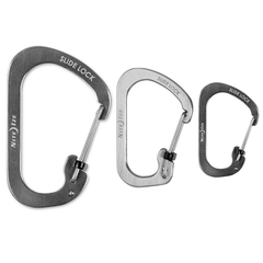 Slidelock Carabiner - Size 2, 3 and 4 - Stainless