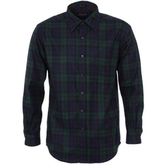 Classic Lodge Shirt - Black Watch Tartan