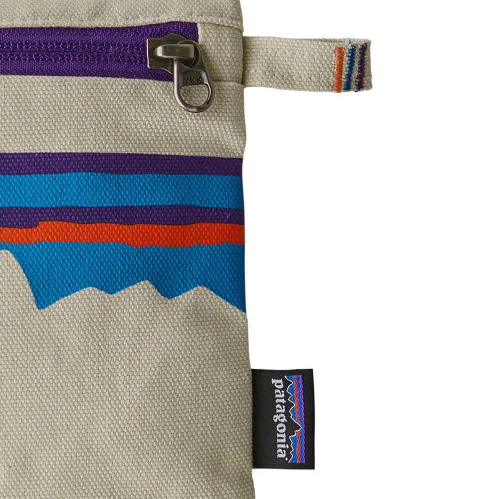Zippered Pouch - P-6 Fitz Roy: Bleached Stone