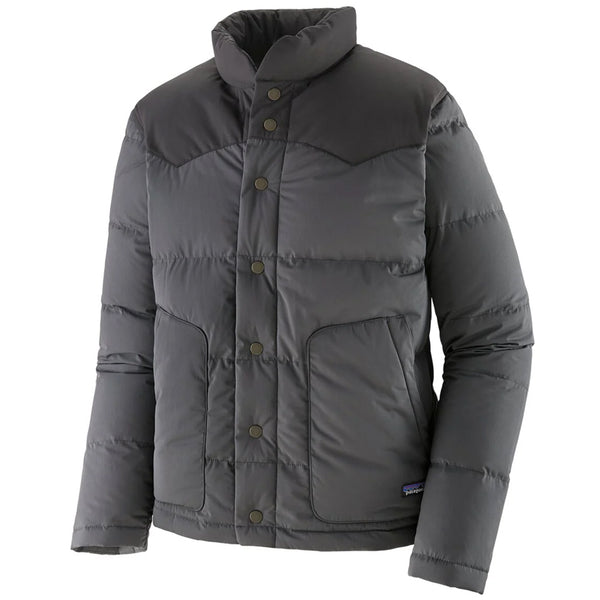 Men's Bivy Down Jacket - Forge Grey