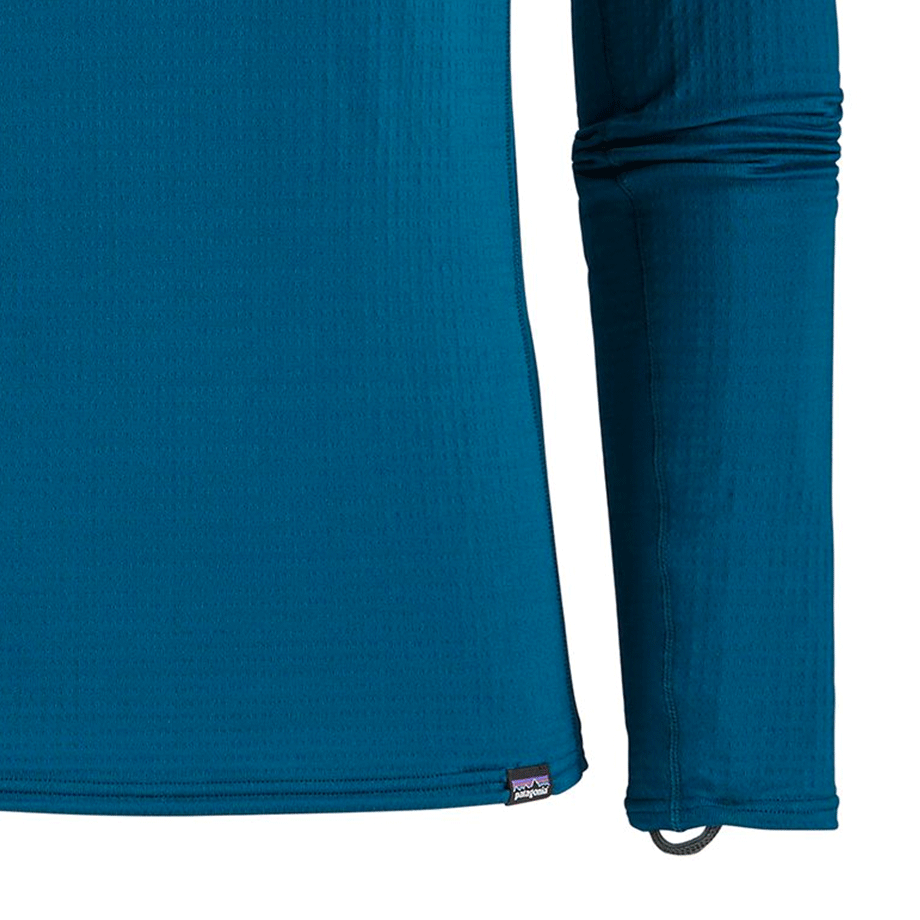 M's Capilene Thermal Weight Crew - Big Sur Blue