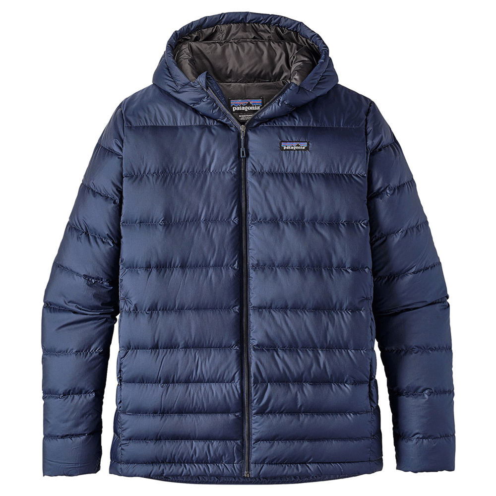 M's Hi-Loft Down Hoody - Navy Blue