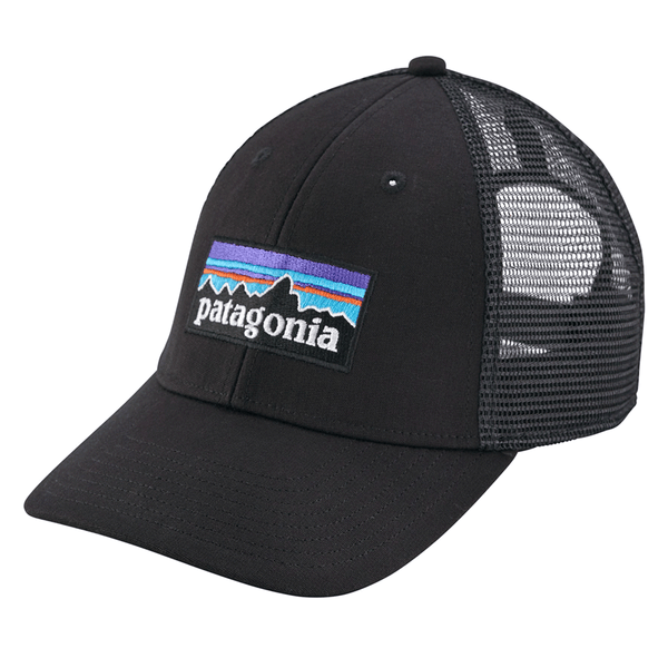 P-6 Logo LoPro Trucker Hat - Black