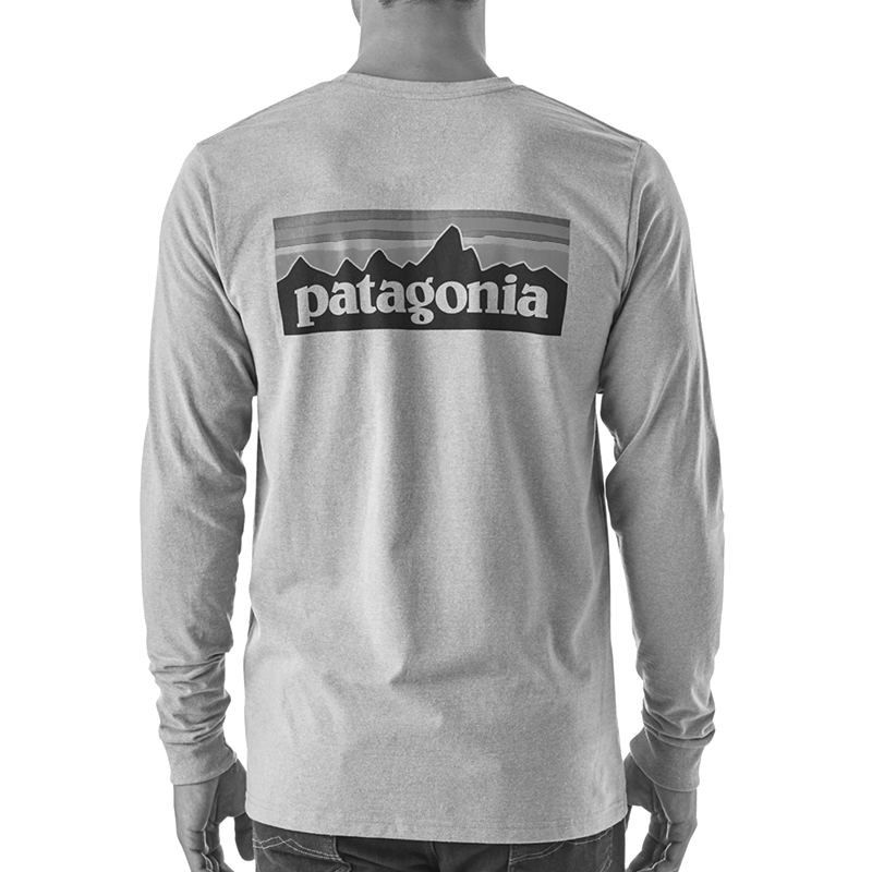 M's Long Sleeved P-6 Logo Responsibili-Tee - Black