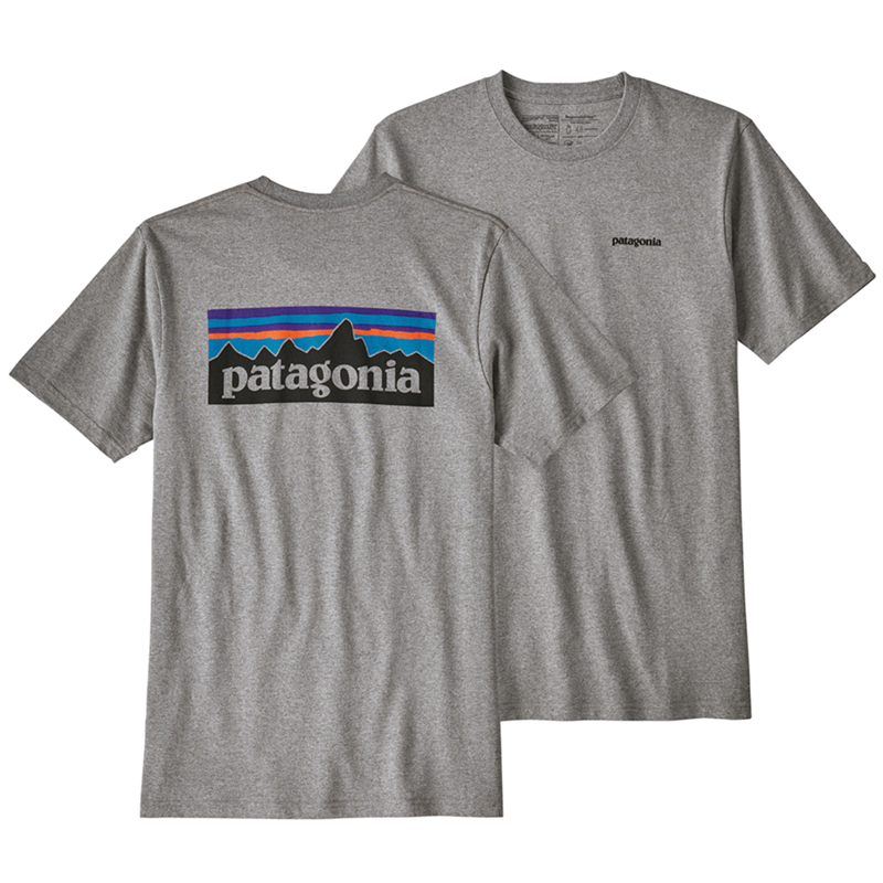 M's P-6 Logo Responsibili-Tee - Gravel Heather
