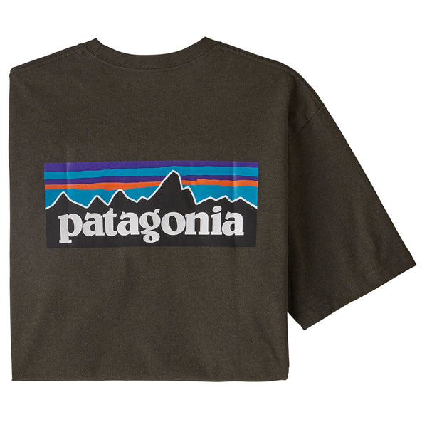 Men's P-6 Logo Responsibili-Tee - Logwood Brown