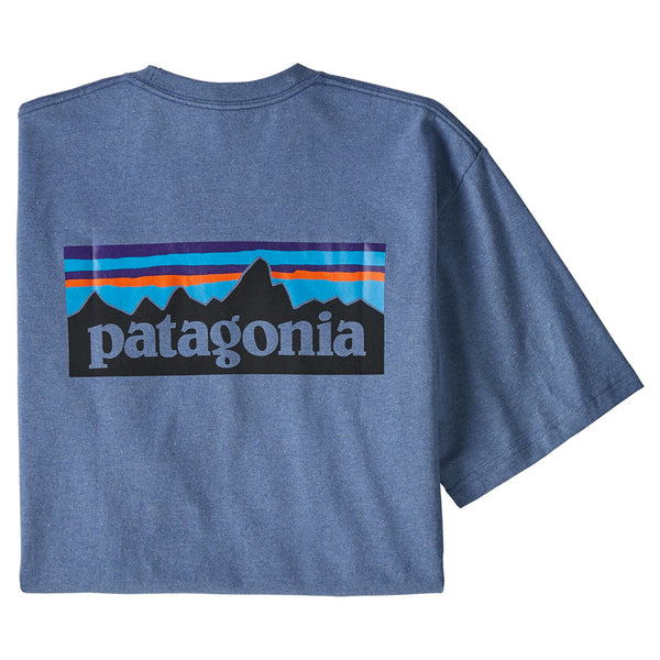 Men's P-6 Logo Responsibili-Tee - Woolly Blue