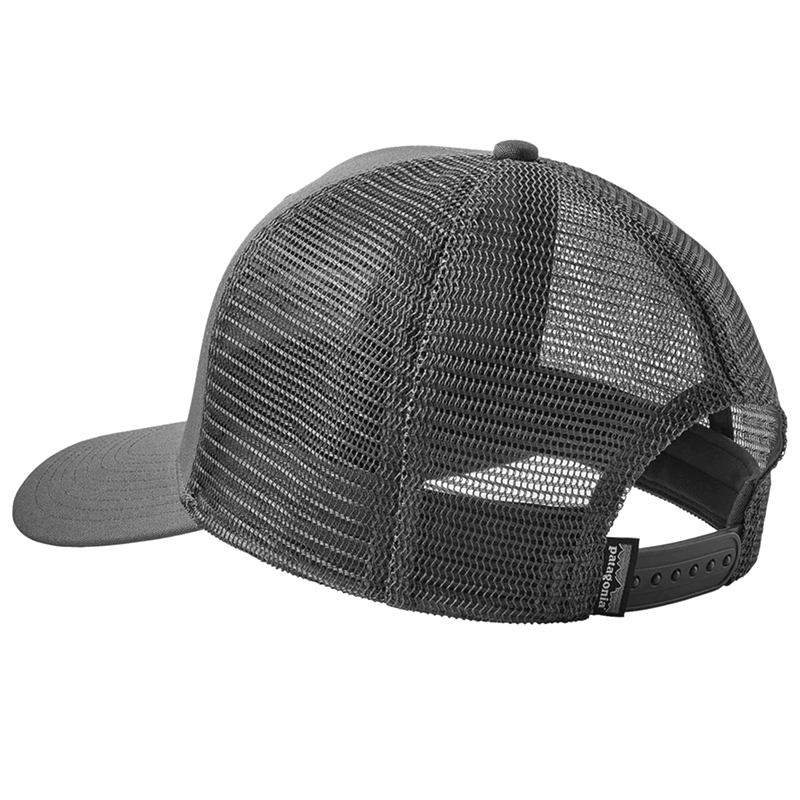 P-6 Logo Trucker Hat - Black