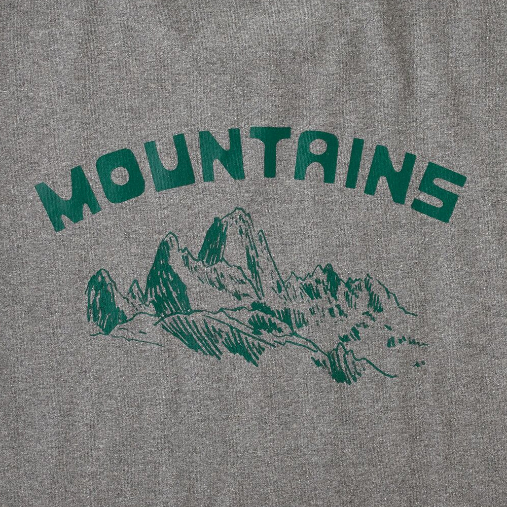 M's Playlands Responsibili-Tee - Gravel Heather w/Mountains
