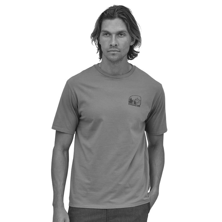 Men's Roam The Dirt Organic T-Shirt - Upwell Blue