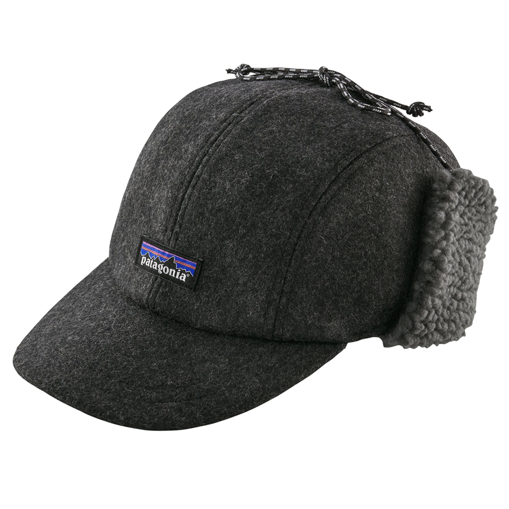 24c2bb4b4d075 The Brokedown Palace - Patagonia - Recycled Wool Ear Flap Cap - Forge Grey