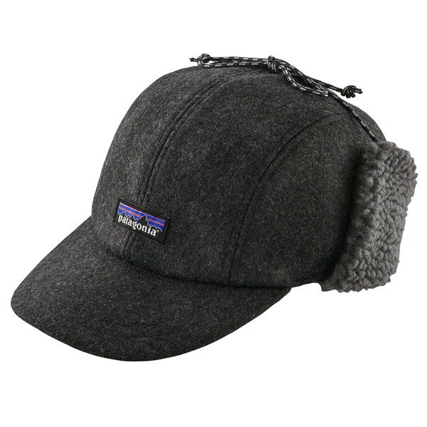 a1a85ba325603 coming soon Recycled Wool Ear Flap Cap - Forge Grey