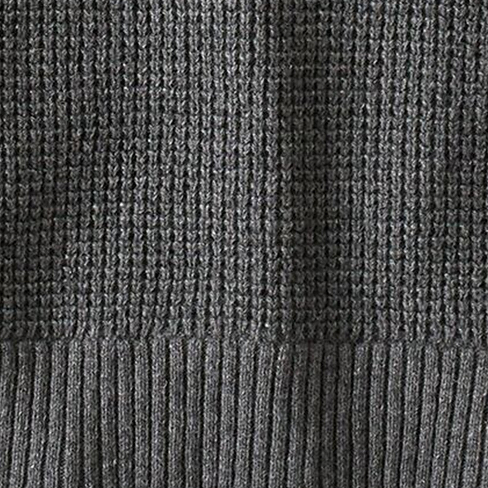Men's Recycled Wool Sweater - Hex Grey