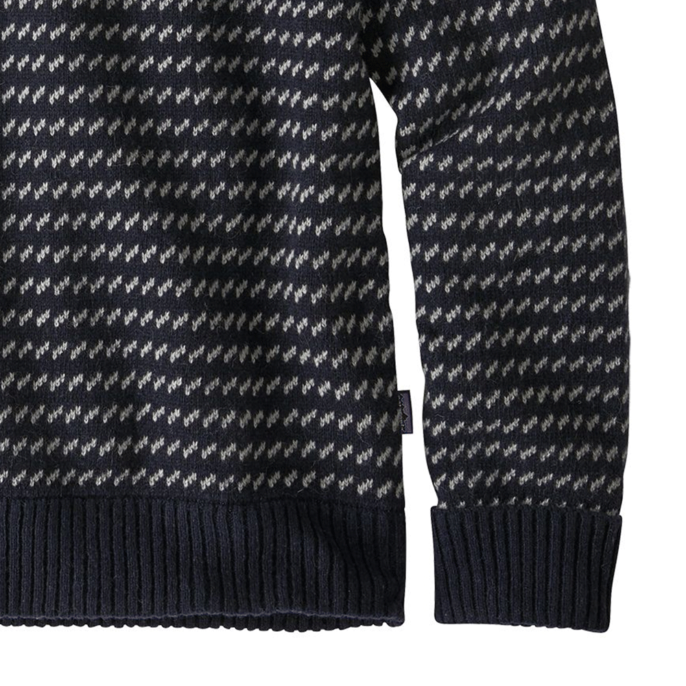 M's Recycled Wool Sweater - Classic Navy