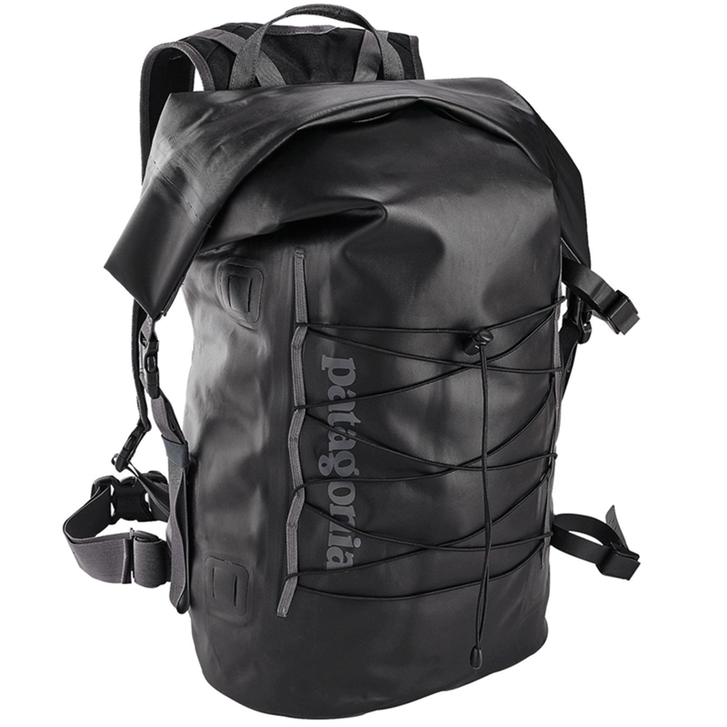 Stormfront Roll Top Pack 45L - Black