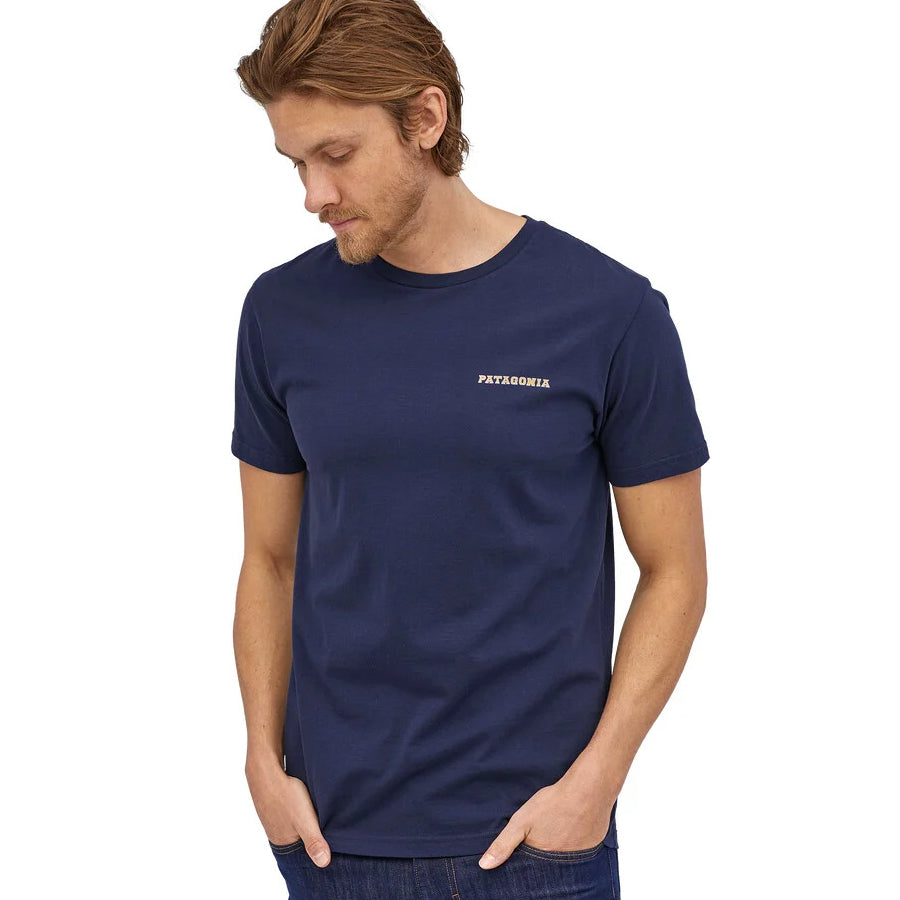 M's Summit Road Organic T-Shirt - Classic Navy