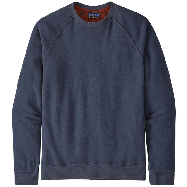 M's Trail Harbor Crew Sweatshirt - New Navy w/Barn Red