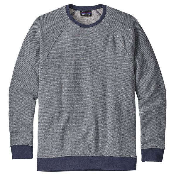 M's Trail Harbor Crew Sweatshirt - Long Plains: Dolomite Blue