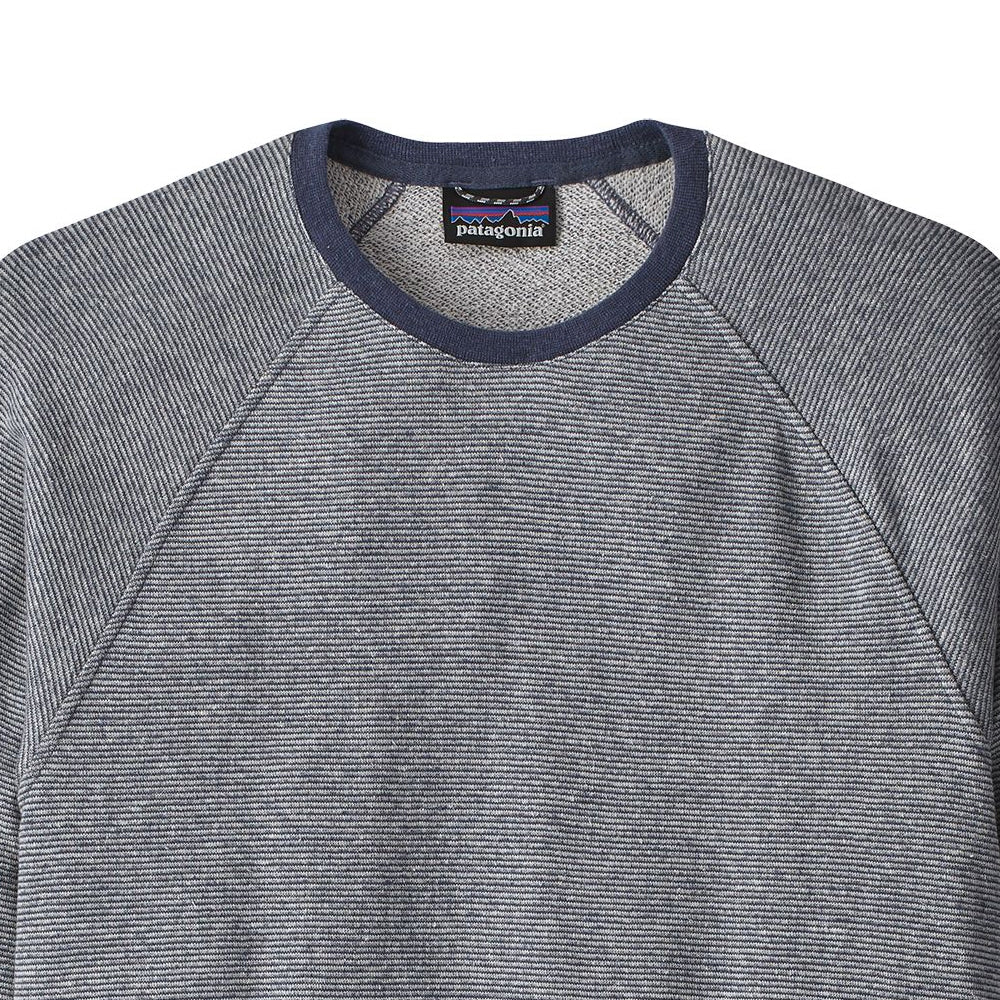 Men's Trail Harbor Crew Sweatshirt - Long Plains: Dolomite Blue