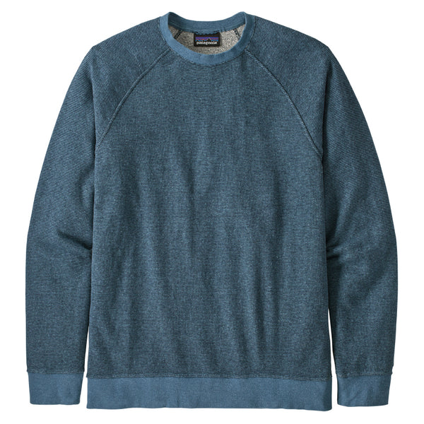Men's Trail Harbor Crew Sweatshirt - Long Plains: Pigeon Blue