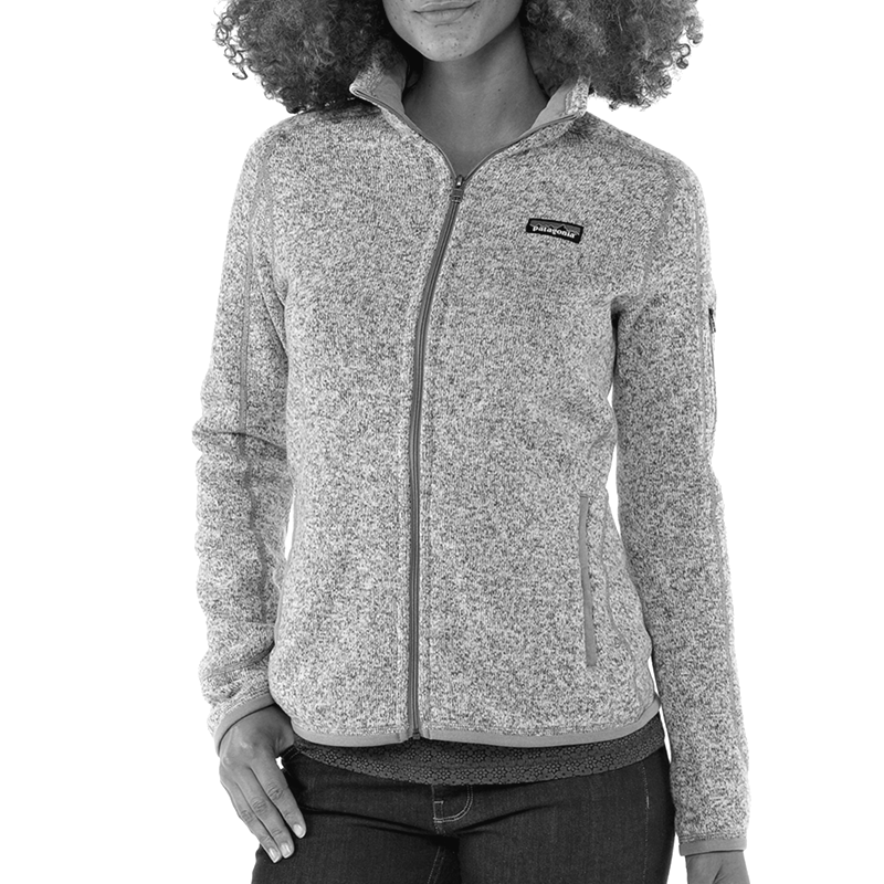 W's Better Sweater Fleece Jacket - Birch White