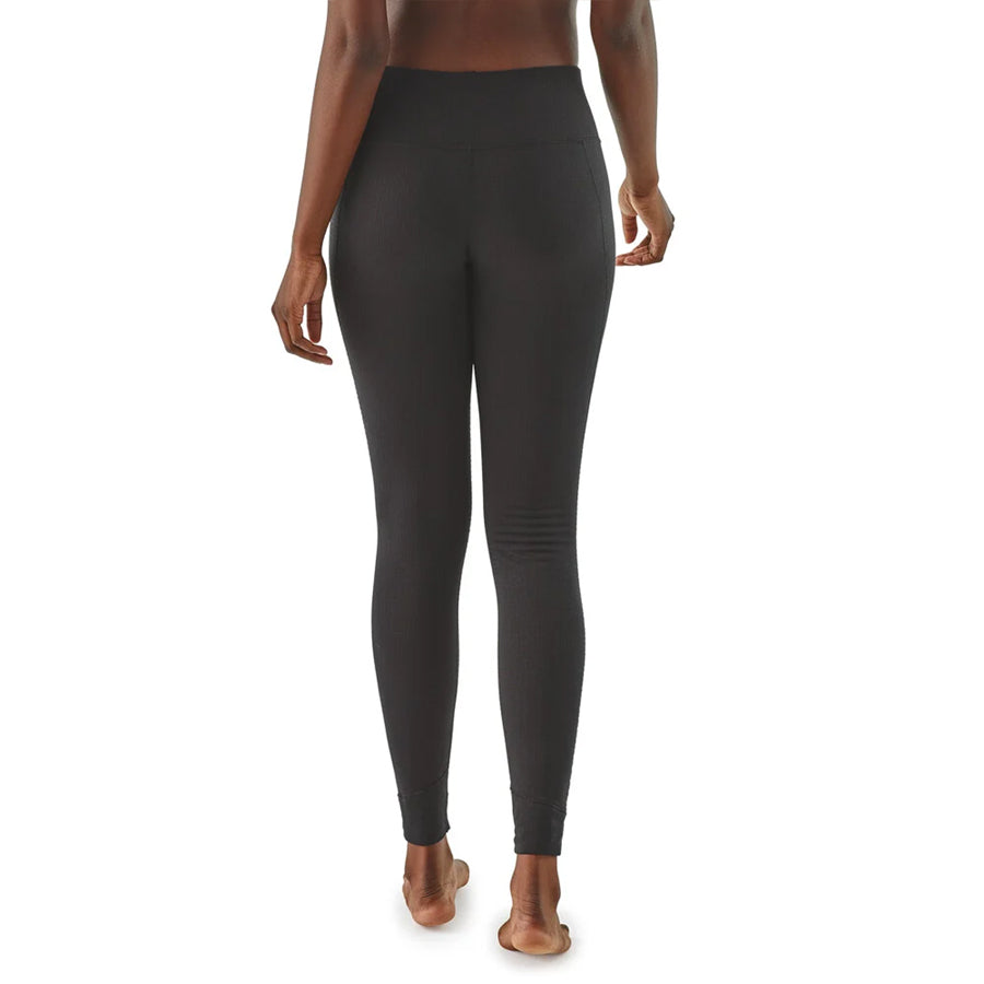 Women's Capilene Thermal Weight Bottoms - Black