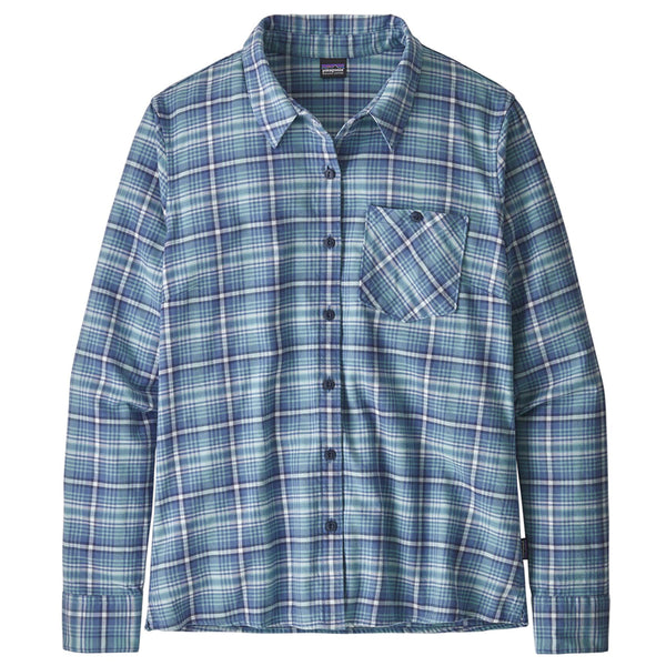 Women's Heywood Flannel Shirt - Sprout: Woolly Blue