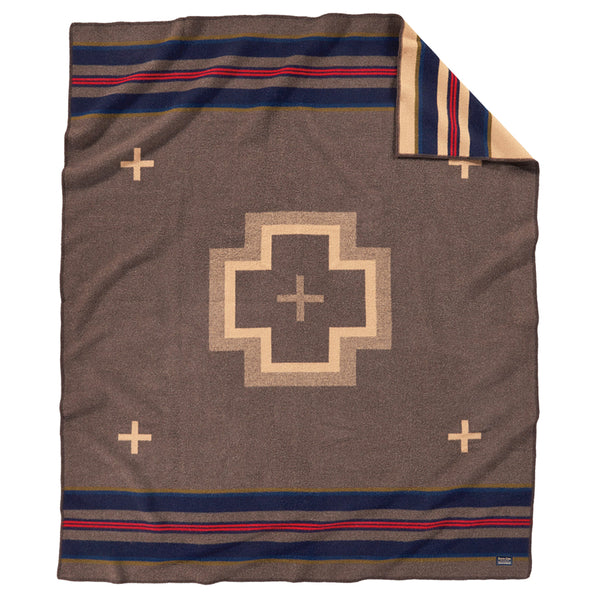 Shelter Bay Blanket Robe - Brown