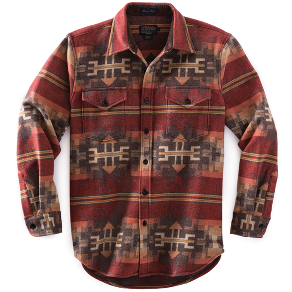Fitted Pinetop Shirt - Broken Arrow Red