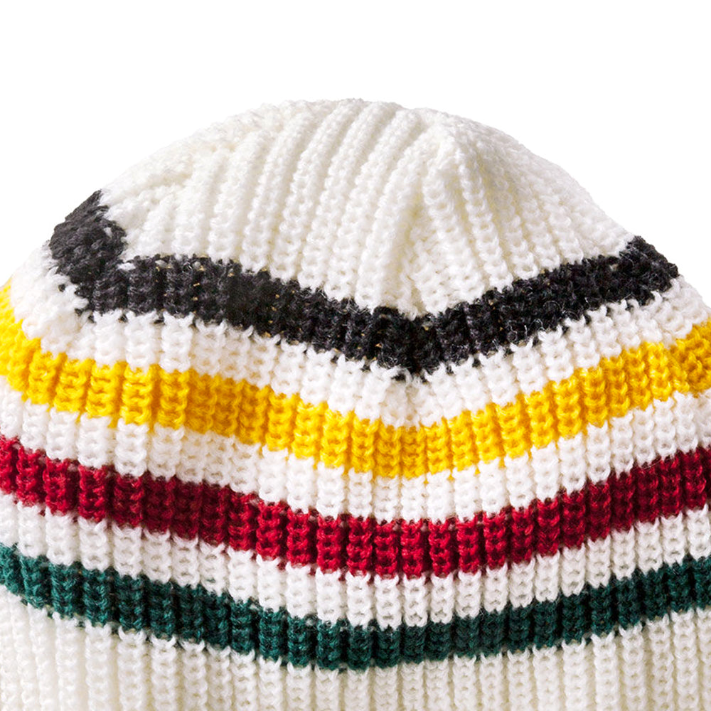 Reversible National Park Beanie - Glacier Stripe