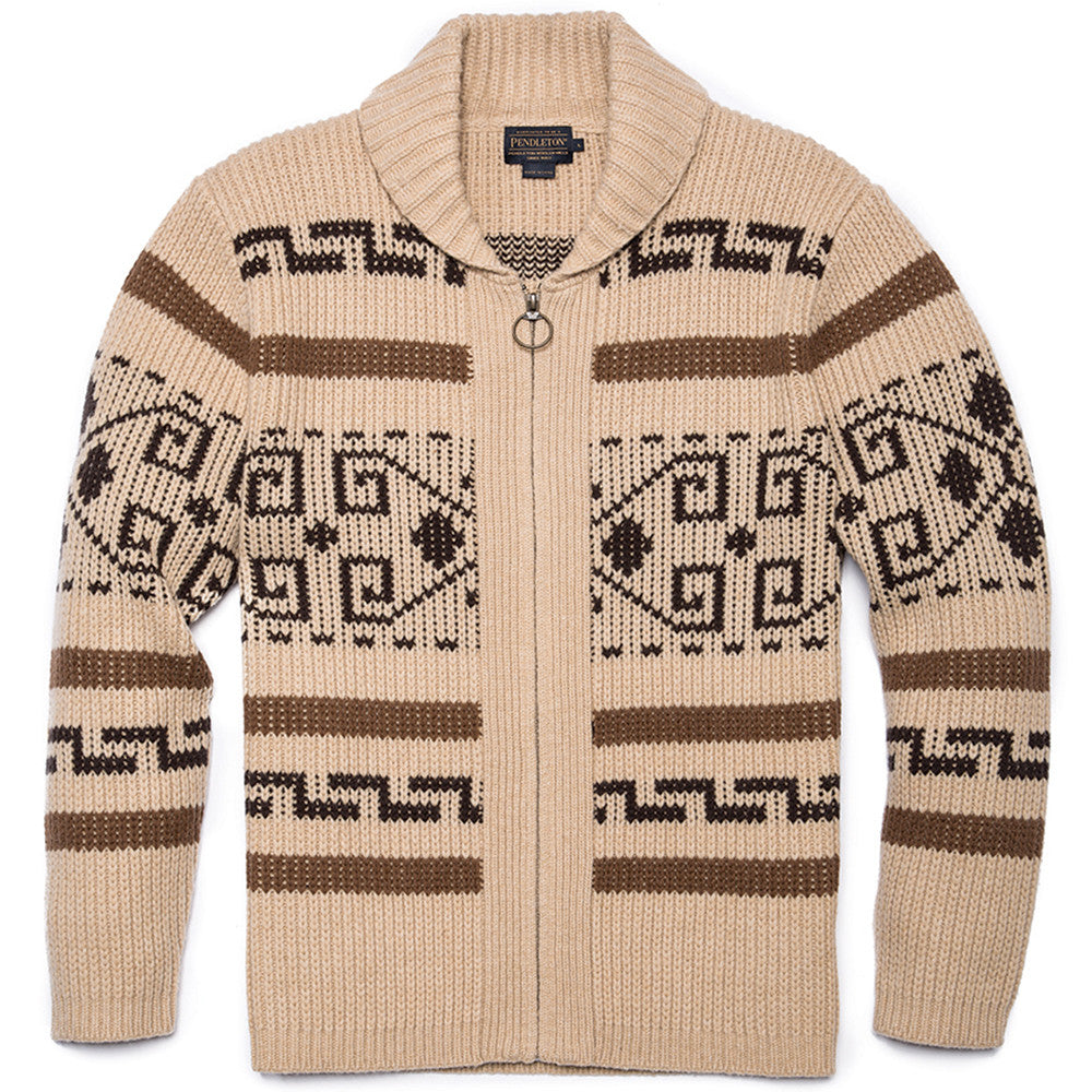 Original Westerley Cardigan - Tan/Brown