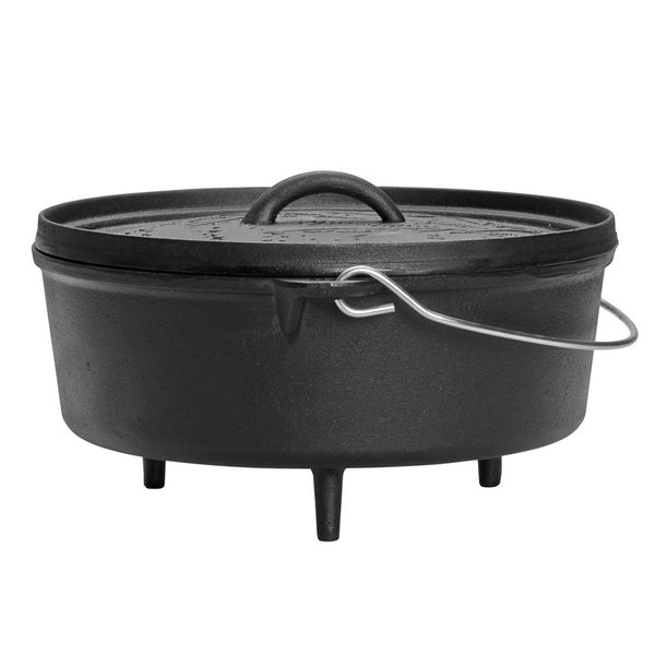 Dutch Oven With Lid - Black