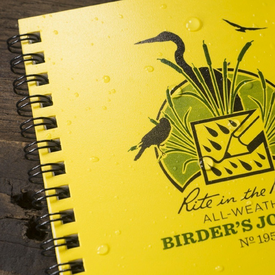Birder's Journal - Yellow