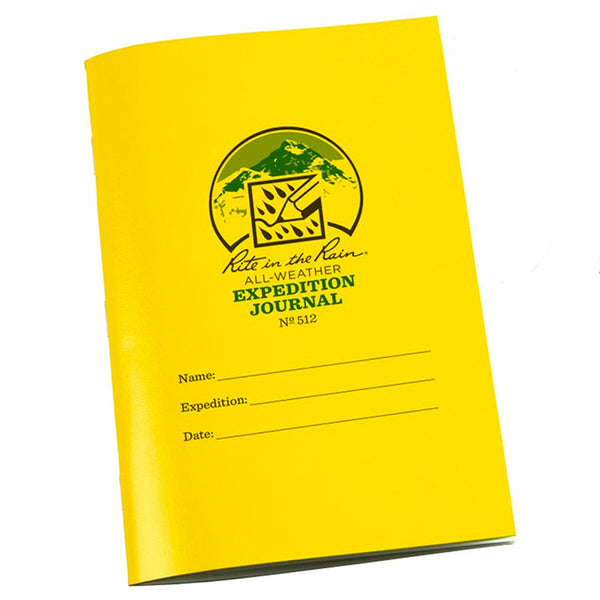 Expedition Journal - Yellow