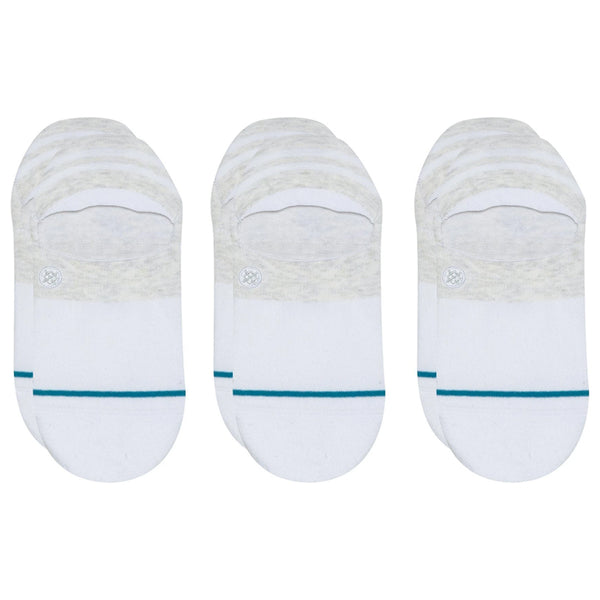 Gamut 3 Pack Socks - White